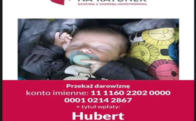 Ratujemy życie małego Huberta Świerzewskiego!!!!!!!!!!!!